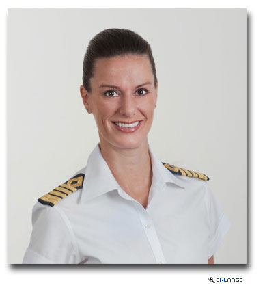 San Francisco native Kate McCue will command Celebrity Summit