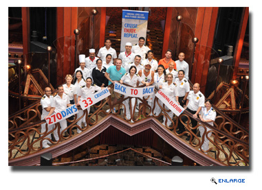 Mississippi Resident Sails on 33 Consecutive Voyages on Carnival Elation