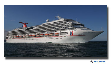 Carnival Splendor To Operate Series Of Two- To Seven-Day Cruises From Norfolk In 2015