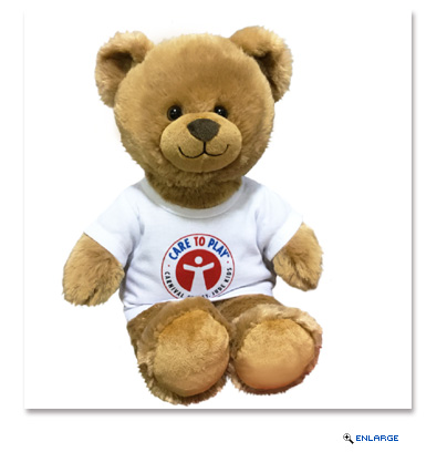 A St. Jude Bear with proceeds benefiting St. Jude Children's Research Hospital