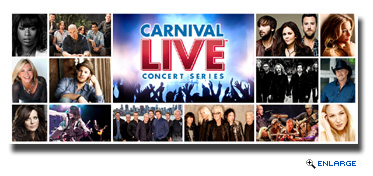 Carnival Unveils Carnival LIVE's Fall 2016 Lineup