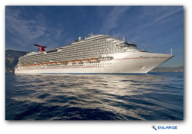 Carnival Dream, Sails On Inaugural Cruise From Big Easy