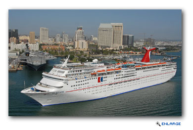 Carnival Elation will reposition to Jacksonville, Fla