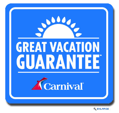 Carnival Launches New Great Vacation Guarantee