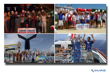 Carnival Cruise Lines Takes On #IceBucketChallenge