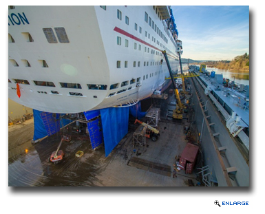 Carnival Inspiration in Final Stages of Multi-Million-Dollar Renovation