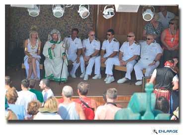 Carnival Legend Marks Equator Crossing with Traditional Maritime Ceremony