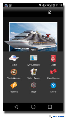 Carnival Launches Shipboard Mobile Gaming Solution