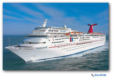 Carnival Paradise To Sail To Havana, Cuba From Tampa Beginning In June 2017 BORDER=