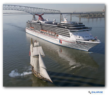 Carnival Pride Returns to Port of Baltimore