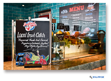 Seafood Shack Casual Eateries Added to Seven Carnival Cruise Line Ships