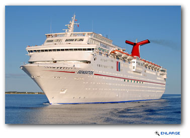 Carnival Sensation Undergoes Extensive Renovation
