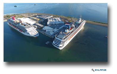 arnival Valor Inaugurates Port Canaveral�s Newly Renovated Terminal 5 BORDER=