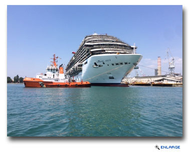 Carnival Vista �Floated Out� at Fincantieri Shipyard