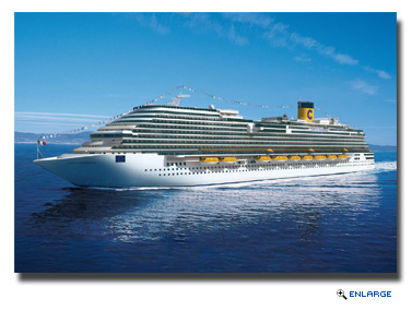 On Nov. 7, Costa Cruises will host a naming ceremony for Costa Diadema in Genoa, Italy