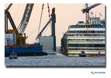 Costa Concordia Final Voyage Scheduled for Late July