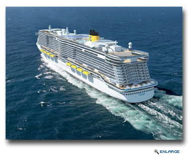 Costa Cruises to Build Two Next-Generation Cruise Ships