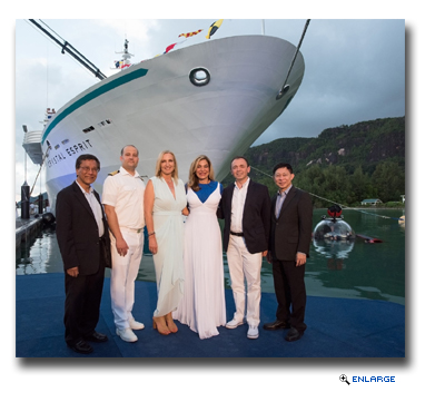 Crystal Esprit Christened in the Seychelles