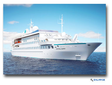 Options Abound Ashore For Crystal Yacht Esprit Guests