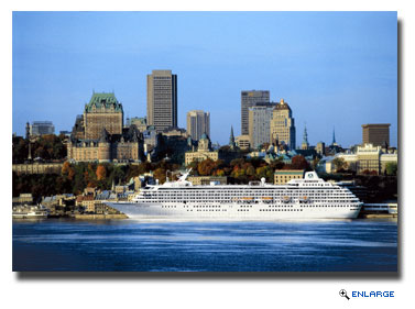 Crystal Serenity plans to dock near downtown Quebec City, where Crystal Symphony has enjoyed prime views during its previous years visits.