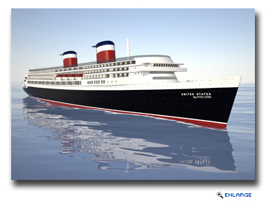Crystal Cruises Announces Plans to Restore SS United States to a Modern Cruise Ship