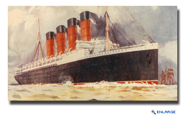 Cunard pays tribute to the loss of Lusitania 100 years on