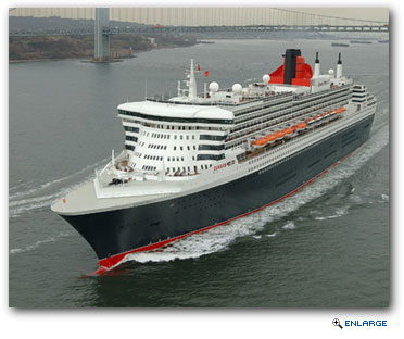 Cunard Line's flagship Queen Mary 2 will celebrate her first ten years of service in 2014.