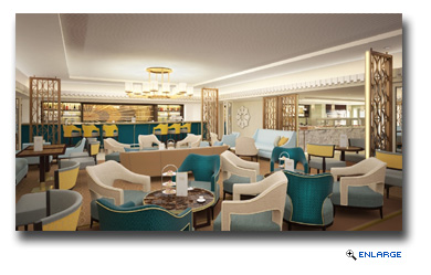 Cunard Introduces the Carinthia Lounge on Queen Mary 2