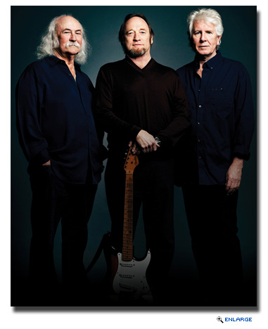 Crosby, Stills & Nash Announced as Headline Act Aboard Queen Mary 2