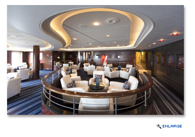 The introduction of The Verandah as the ship�s new speciality restaurant