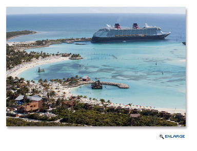 All 2018 Disney Cruise Line sailings from Port Canaveral and Miami to the Bahamas and Caribbean include a stop at Castaway Cay, Disney's private island paradise