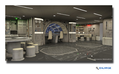 Kids will be transported to a far away galaxy at Star Wars: Millennium Falcon, a Force-filled play area