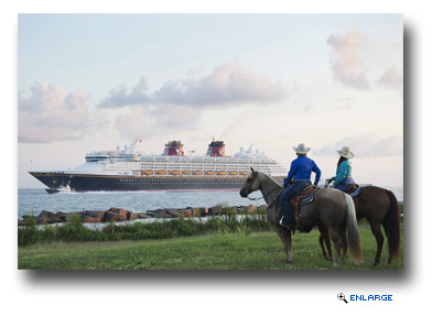 Disney Magic sails into Galveston for the first time in 2012