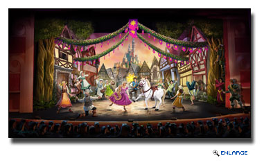 Disney Magic to Feature