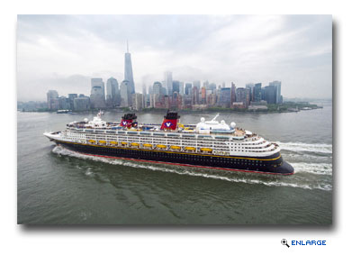 Disney Cruise Line Returning to New York, Miami and Galveston in 2016