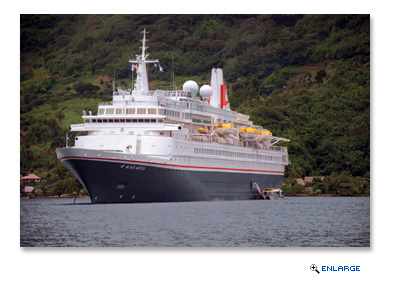 Fred. Olsen Cruise Lines announced that there was a fire on board its cruise ship, Black Watch, the morning of Friday, July 1st 2016
