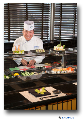 Holland America Line Collaborates with Top Sushi Chef Andy Matsuda