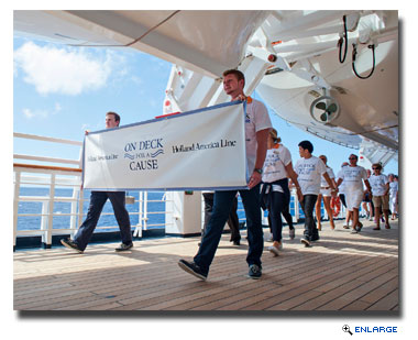 HAL Honors World Cancer Day With On Deck Fundraising Walks
