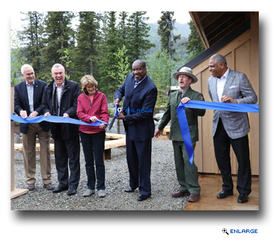Holland America Line Celebrates Grand Opening of Denali Square Complex in Alaska with $20,000 Donation to Local School District