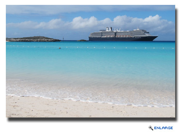 Holland America Line Celebrates 20th Anniversary of Private Island Half Moon Cay