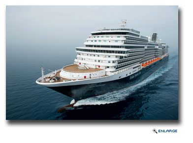 Holland America Line's new ms Koningsdam to Homeport at Port Everglades for Winter 2016/Spring 2017