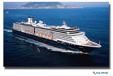 Due to continued unrest in Egypt and surrounding areas Holland America Line's ms Noordam will now sail cruises with central and western Mediterranean itineraries in spring and summer 2014.