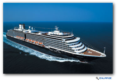 Holland America Line to Add Seventh Ship to 2017 Alaska Season