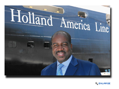 Holland America Line announced today that effective Dec. 1, Orlando Ashford will join the company as president