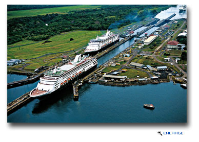 Seven HAL Ships to Sail Panama Canal in 2015-16