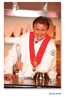 Master Chef and culinary consultant Rudi Sodamin