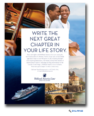 Holland America Line Launches New Advertising Campaign