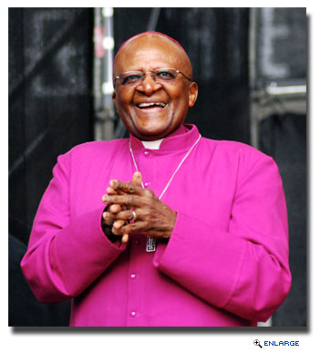 Archbishop Desmond Tutu Headlines Speakers Series on HALs 2014 Grand World Voyage