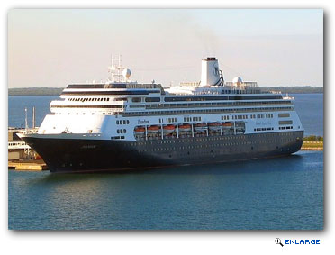 To start the South America cruising season, Zaandam departs Vancouver Oct. 5, 2014, on a 22-day Inca Discovery cruise