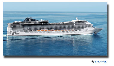 MSC Divina Headed To Mediterranean In 2015